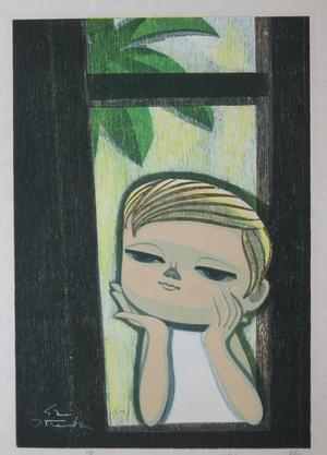 Ikeda Shoen: Window — 窓 - Japanese Art Open Database