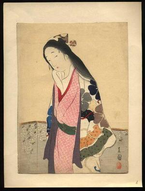 山本昇雲: Yayoi- March - Japanese Art Open Database