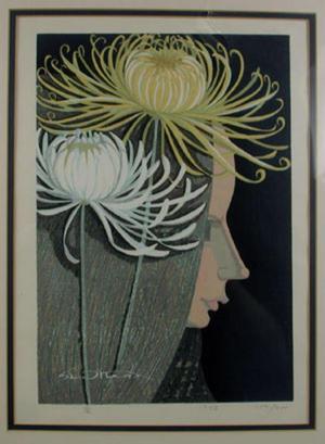 Ikeda Shuzo: Chrysanthemums - Japanese Art Open Database