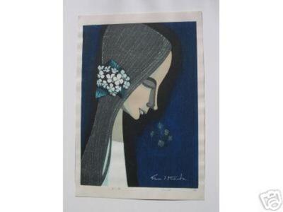 Ikeda Shuzo: Flower Ornament — 花? - Japanese Art Open Database