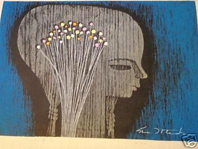 Ikeda Shuzo: Little Flowers - Japanese Art Open Database