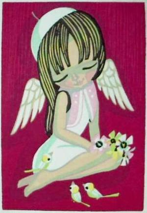 Ikeda Shuzo: Little angel - Japanese Art Open Database