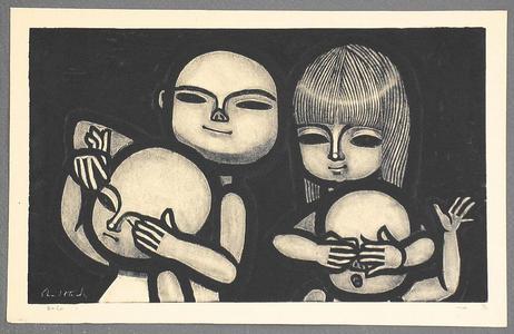 Ikeda Shuzo: Mekakushi - Blindmans Bluff- LE - Japanese Art Open Database