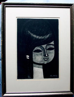 Ikeda Shuzo: No 403- Young Girl - Japanese Art Open Database