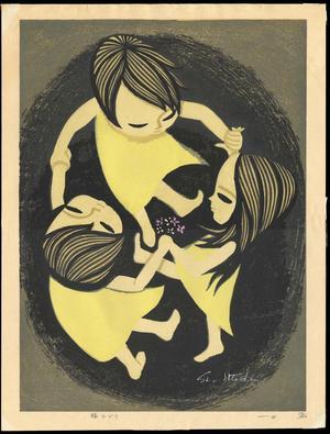 Ikeda Shuzo: Ring Dancing- LE — 輪おどり - Japanese Art Open Database