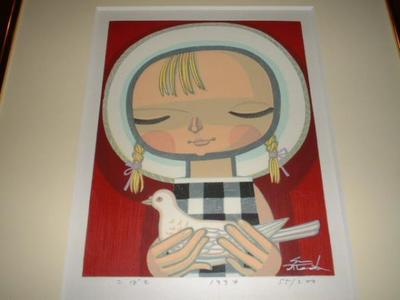 Ikeda Shuzo: Small Dove - Japanese Art Open Database