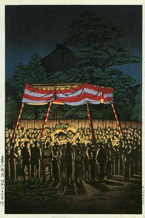 Tsuchiya Koitsu: Amateur Wrestling Match - Japanese Art Open Database