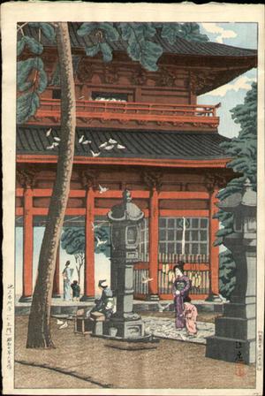 風光礼讃: Ikegami Honmonji - Japanese Art Open Database