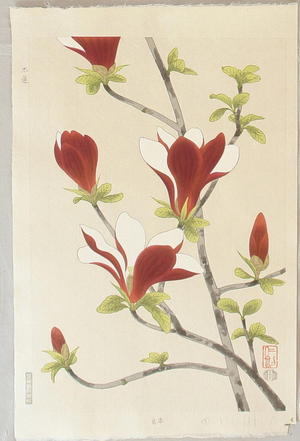 Ito Nisaburo: Magnolia - Japanese Art Open Database