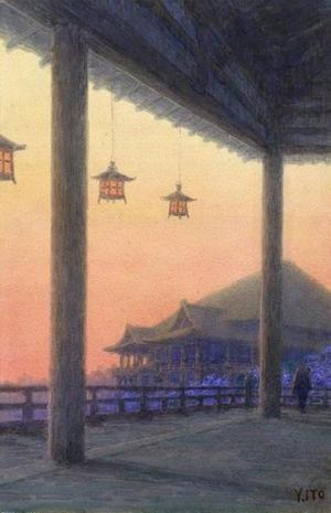 Ito Yuhan: Kiyomizu Temple - Japanese Art Open Database