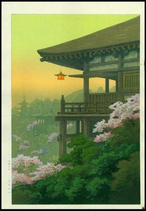 Ito Yuhan: Kiyomizu-dera Temple - Japanese Art Open Database