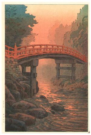 Ito Yuhan: Sacred Bridge, Nikko - Japanese Art Open Database