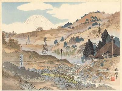 Jokata Kaiseki: Fuji from Sakawagawa — 酒匂川の富士 - Japanese Art Open Database