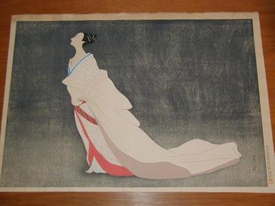 Kawai Gorota: Spring evening — 春宵 - Japanese Art Open Database