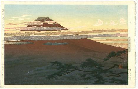 Kusaka Kenji: Mt Fuji Seen from Numazu - Japanese Art Open Database