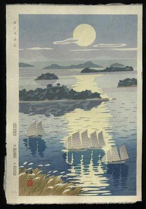 Kusaka Kenji: Seto Naikai- Seto Inland Sea - Japanese Art Open Database