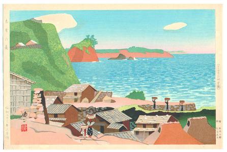Kusaka Kenji: The Summer Island — Shima no Natsu - Japanese Art Open Database