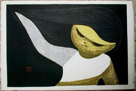 河野薫: Gentle Breeze- oban - Japanese Art Open Database