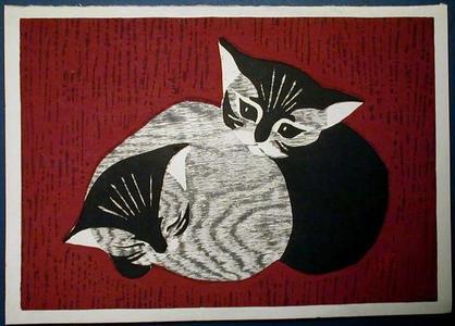 河野薫: Kittens - Japanese Art Open Database