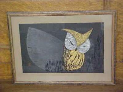 河野薫: Moonlight Night- Oban - Japanese Art Open Database