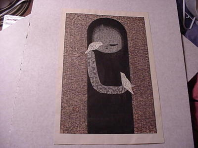 河野薫: Small Birds — 小鳥 - Japanese Art Open Database