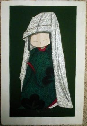 河野薫: Snow Camellia - Japanese Art Open Database