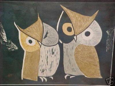 Kawano Kaoru: Three Eyes- LE - Japanese Art Open Database