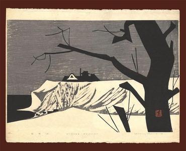 河野薫: Winter Mansion LE - Japanese Art Open Database