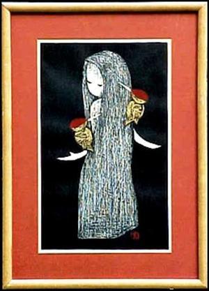 河野薫: Woodpecker - Japanese Art Open Database