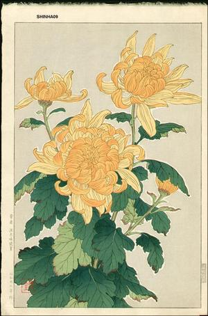 Kawarazaki Shodo: Chrysanthemum 1 - Japanese Art Open Database