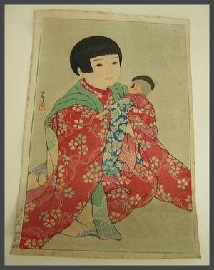 Kawase Hasui: A Doll - Japanese Art Open Database