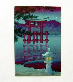 Kawase Hasui: Miyajima Shrine - Japanese Art Open Database
