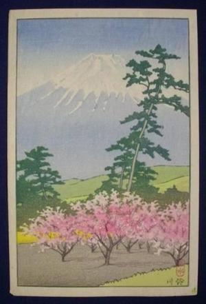 Kawase Hasui: Fuji - yotsugiri - Japanese Art Open Database