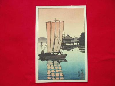 川瀬巴水: Ohmi - Japanese Art Open Database
