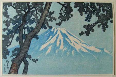 Kawase Hasui: Tagonoura- Lake Tago - Japanese Art Open Database