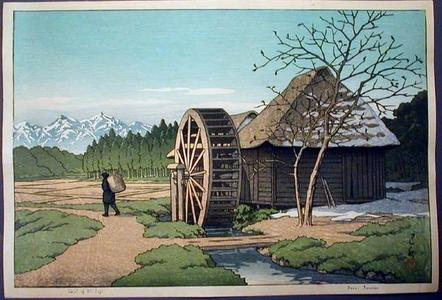 Kawase Hasui: Skirt of Mt Fuji - Japanese Art Open Database