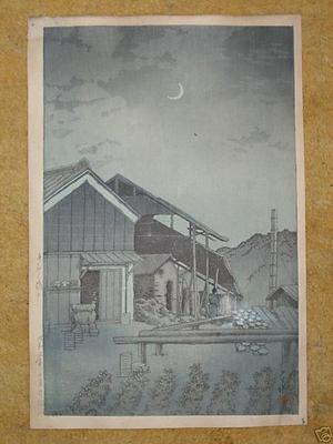 川瀬巴水: Seto, Bishu - Japanese Art Open Database