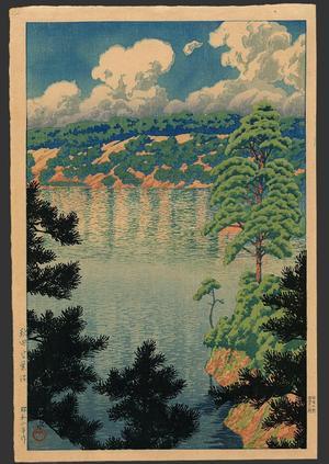 川瀬巴水: Akita - Karasunuma Swamp - Japanese Art Open Database