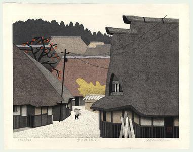 Kawashima Tatsuo: Autumn in Kyoto - Japanese Art Open Database