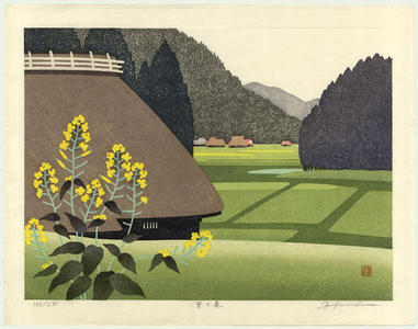 Kawashima Tatsuo: Spring in the Countryside - Japanese Art Open Database