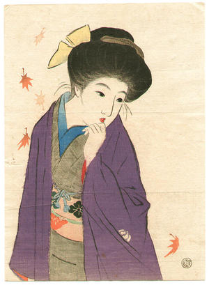 Takeuchi Keishu: Balmy Autumn Day - Japanese Art Open Database