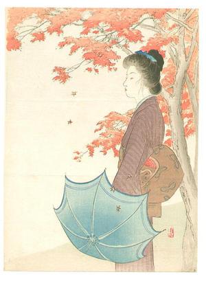武内桂舟: Brocade of Autumn - Japanese Art Open Database