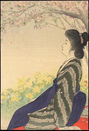 武内桂舟: Early Spring - Japanese Art Open Database