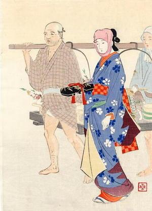 武内桂舟: Festive Makers for Hina Matsuri - Japanese Art Open Database