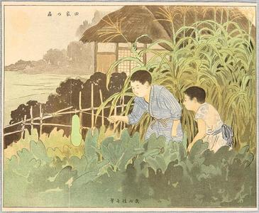 武内桂舟: Looking for Insects - Japanese Art Open Database