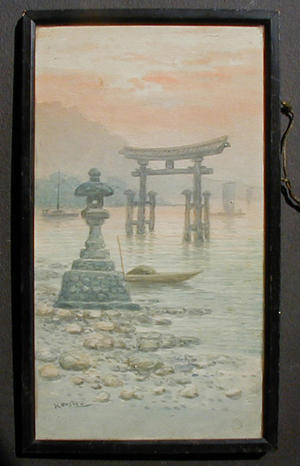 武内桂舟: Miyajima 1 - Japanese Art Open Database