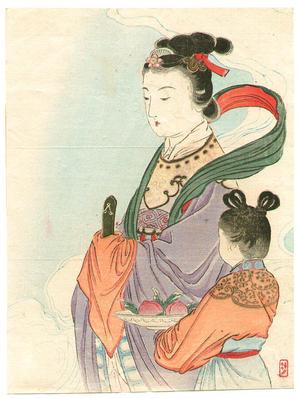 Takeuchi Keishu: Seiobo - Queen of the West - Japanese Art Open Database