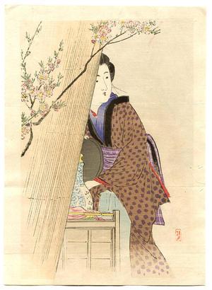 武内桂舟: White Wine Seller - Japanese Art Open Database