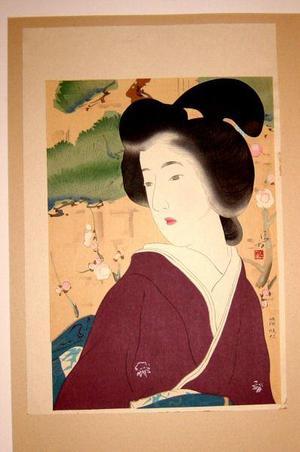 Kaburagi Kiyokata: Shunshou - Japanese Art Open Database