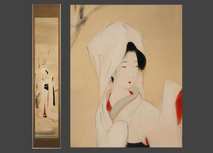 Kiyoshi Kobayakawa: Heron Maiden in Snow - Japanese Art Open Database
